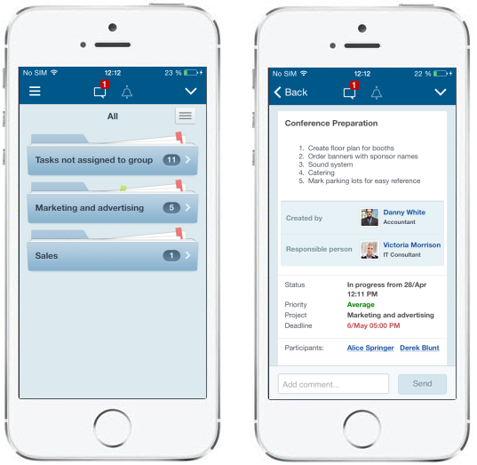 Мобильная версия bitrix24 планирование и учет работ с клиентами в crm системе