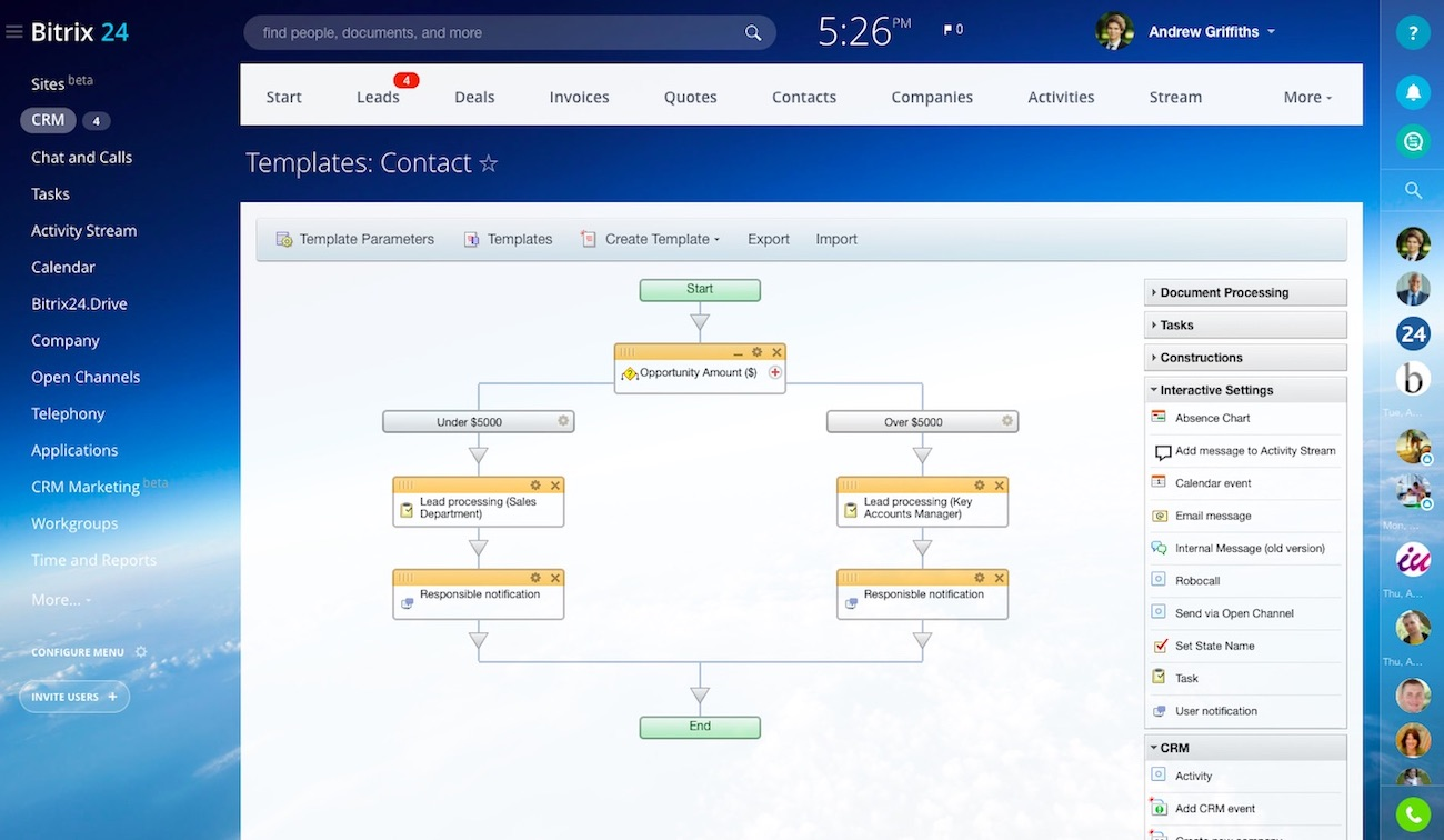 Free ERP with business process automation and workflows