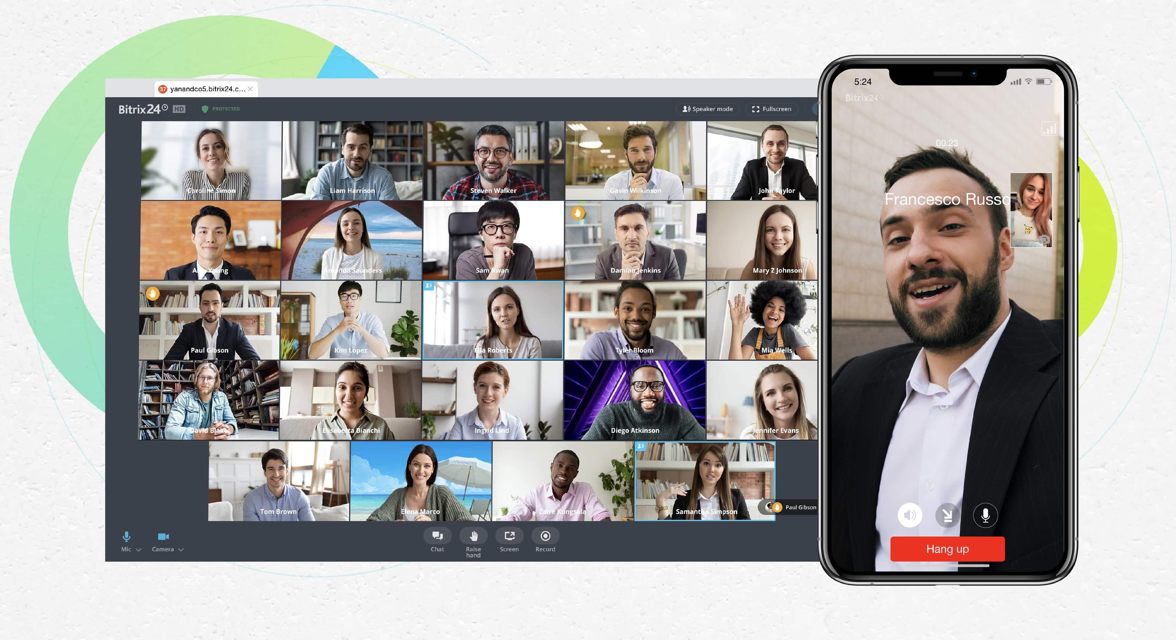 video calls bitrix24