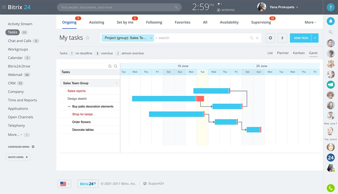 Free Task And Project Management For Teams