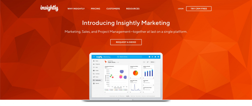 Insightly crm software