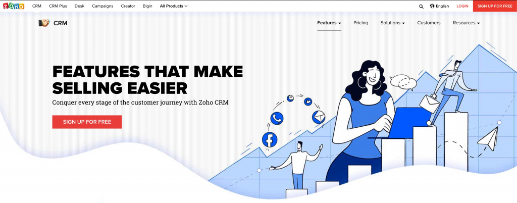 Zoho CRM for personal
